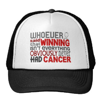 Whoever Said Lung Cancer Trucker Hat