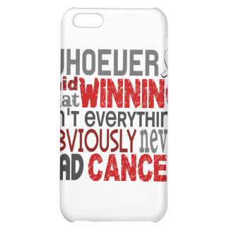 Whoever Said Lung Cancer iPhone 5C Case