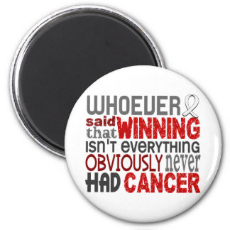 Whoever Said Mesothelioma 2 Inch Round Magnet