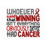 Whoever Said Multiple Myeloma Post Cards
