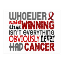 Whoever Said Multiple Myeloma Postcard