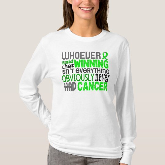 3cd54a75 Whoever Said Non-Hodgkin's Lymphoma T-Shirt | Zazzle.com