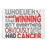 Whoever Said Oral Cancer Cover For The iPad Mini
