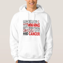 Whoever Said Oral Cancer Hoodie