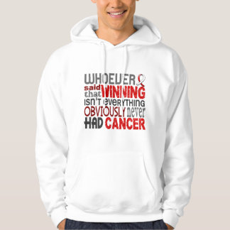 Whoever Said Oral Cancer Hoody