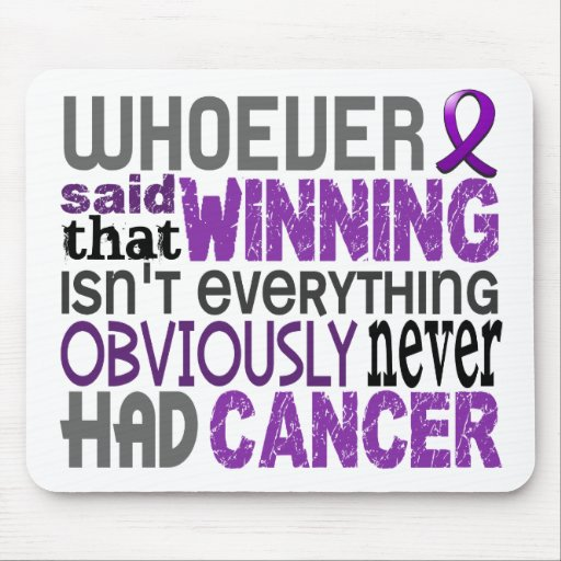 Whoever Said Pancreatic Cancer Mouse Pad
