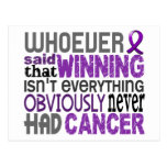 Whoever Said Pancreatic Cancer Postcard