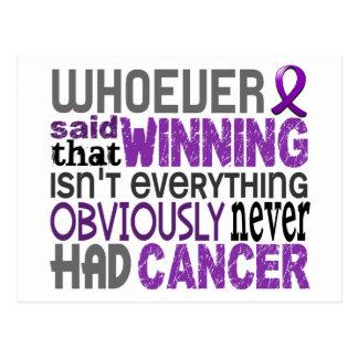 Whoever Said Pancreatic Cancer Postcard