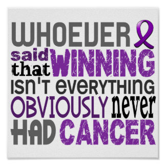 Whoever Said Pancreatic Cancer Poster