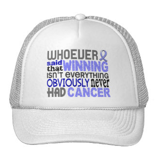 Whoever Said Prostate Cancer Trucker Hats