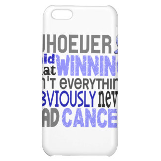 Whoever Said Prostate Cancer iPhone 5C Covers