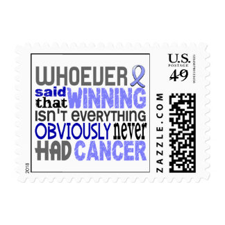 Whoever Said Prostate Cancer Stamp