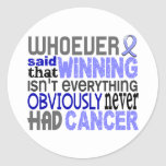 Whoever Said Prostate Cancer Sticker