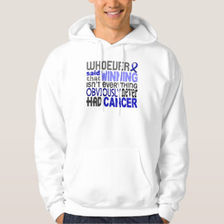 Whoever Said Rectal Cancer Hooded Pullover