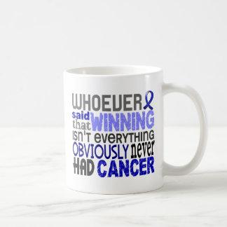 Whoever Said Rectal Cancer Classic White Coffee Mug