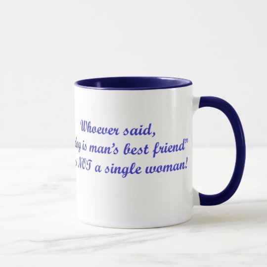 Whoever said...Ringer Mug