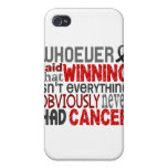Whoever Said Skin Cancer iPhone 4/4S Cases