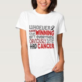 Whoever Said Skin Cancer Shirt
