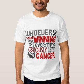 Whoever Said Skin Cancer Tee Shirt
