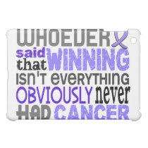 Whoever Said Stomach Cancer Cover For The iPad Mini