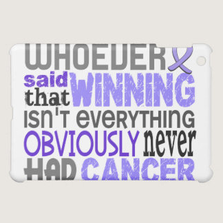 Whoever Said Stomach Cancer iPad Mini Cover