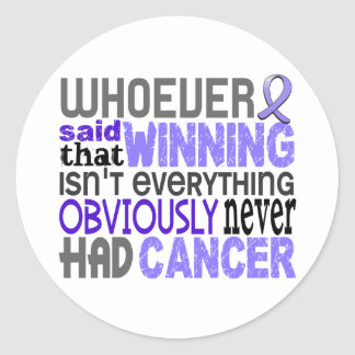 Whoever Said Stomach Cancer Stickers