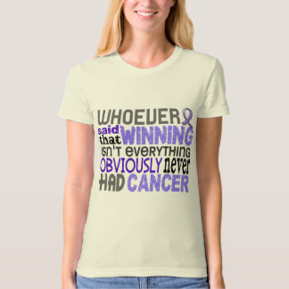 Whoever Said Stomach Cancer T Shirts