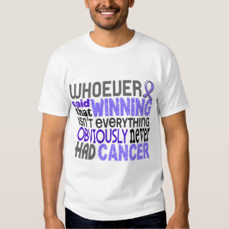 Whoever Said Stomach Cancer Tee Shirt