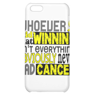 Whoever Said Testicular Cancer iPhone 5C Case