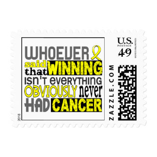 Whoever Said Testicular Cancer Postage Stamps