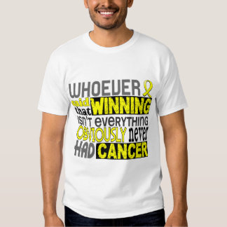 Whoever Said Testicular Cancer T Shirts