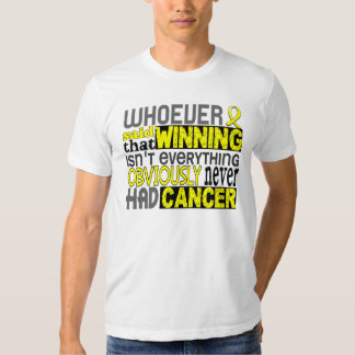 Whoever Said Testicular Cancer T-shirts