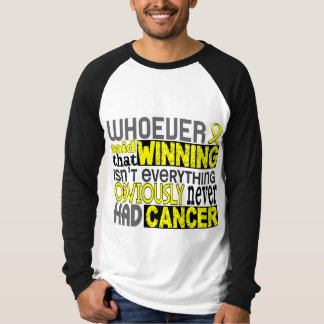Whoever Said Testicular Cancer Tee Shirts