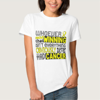 Whoever Said Testicular Cancer Tees