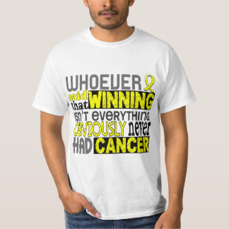 Whoever Said Testicular Cancer Tshirts