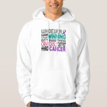 Whoever Said Thyroid Cancer Hoodie