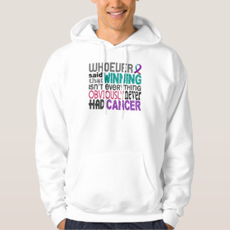 Whoever Said Thyroid Cancer Hoodie