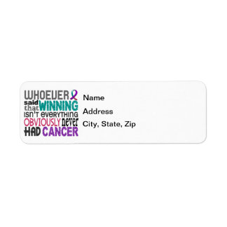 Whoever Said Thyroid Cancer Label