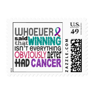 Whoever Said Thyroid Cancer Stamps