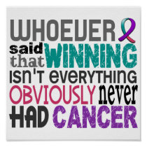Whoever Said Thyroid Cancer Poster