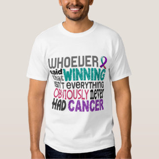 Whoever Said Thyroid Cancer T Shirt