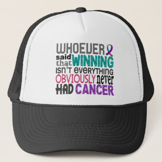 Whoever Said Thyroid Cancer Trucker Hat