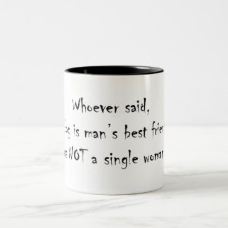 Whoever said...Two Tone Mug