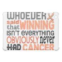 Whoever Said Uterine Cancer Case For The iPad Mini