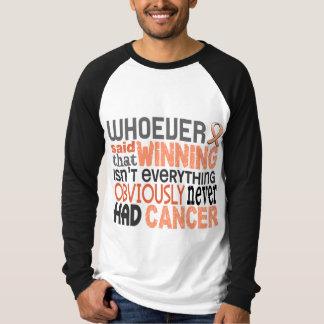 Whoever Said Uterine Cancer Shirts