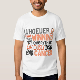 Whoever Said Uterine Cancer T Shirts