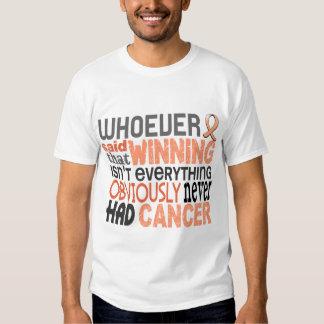 Whoever Said Uterine Cancer Tees