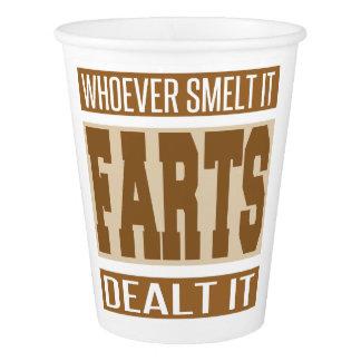 Whoever Smelt It Dealt It Paper Cup