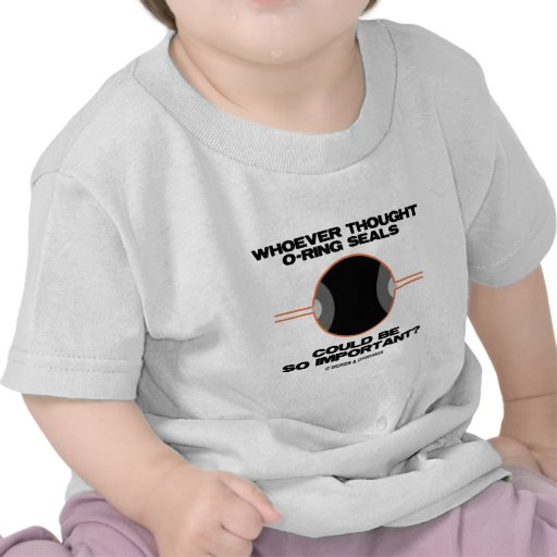 Whoever Thought O-Rings Could Be So Important? T Shirt