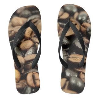 Whole Bean Coffee Flip Flops